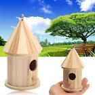New Wooden Bird House Birdhouse Hanging Nest Nesting Box For Home Garden Decor