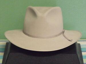 STETSON 5X FUR FELT DUNE PINCH FRONT COWBOY WESTERN HAT