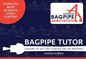 Bagpipe Specialists Bagpipe Tutor Book - Learn to Play the Bagpipes