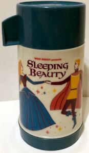 Vintage Walt Disney SLEEPING BEAUTY Thermos ! 1970 ! Aladdin ! Rare ! HTF 🔥
