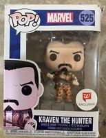Funko Pop! Marvel Kraven the Hunter Marvel 80 Years Walgreens Exclusive New #525