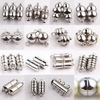 10X Strong Magnetic Magnet Clasp Necklace Hooks Clasps Connectors Jewelry Making