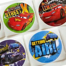 smilemakers Disney Cars Large Round Stickers 15 sheets A