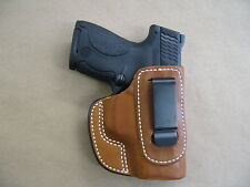 Iwb Molded Leather Waistband Concealed Carry Holster For Springfield Xds Tan