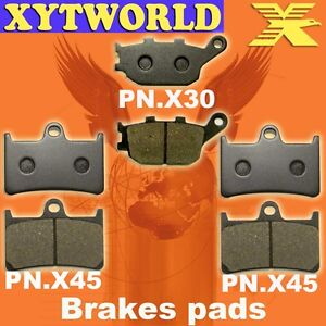FRONT REAR Brake Pads for YAMAHA YZF-R6 2008-2010 2011 2012 2013 2014 2015 2016