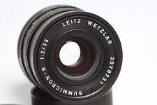 LEICA Summicron - R  2 / 35mm  3 CAM