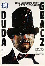 Original exhibition Polish poster by Swierzy