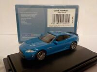 Jaguar XKRS, Blue, Oxford Diecast 1/76 New Dublo, Railway Scale