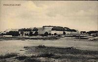 Peschawar Peshawar Fort Lichtdruck AK Pakistan um 1910 Vintage Postcard