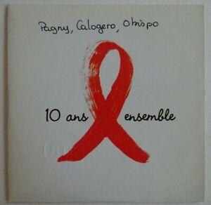 PAGNY CALOGERO OBISPO : Y'A PAS UN HOMME QUI SOIT NE POUR CA ♦ CD SINGLE PROMO ♦