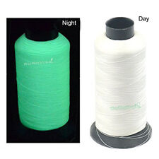 3000 Yards Glow In The Dark Machine Embroidery HAND Threads 150D Optical White W