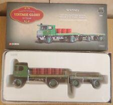 CORGI 80008 VINTAGE GLORY Sentinel wagon remorque & Oil Drums LTD ED 0005 de 5100
