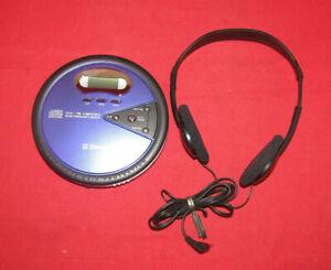 EMERSON HD8150BL- PORTABLE CD PLAYER DISCMAN CD-R/RW.60 SEC ANTI SKIP PROTECTION