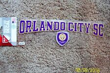 "MLS ""Orlando City"" Perfect Cut Decal - NEW"