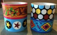 Craft Duct Tape Poka Dots Flowers Stars for Crafting and Decorating