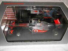 NEW Vodafone McLaren 1:43 ~ Jenson Button ~ 2011 Japan GP Victory ~ Formula 1