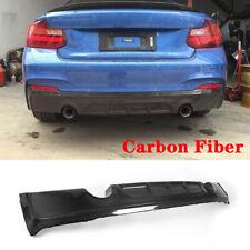 Carbon Rear Diffuser Spoiler Fit For BMW F22 220i 228i 235i M Sport Bumper 14-17