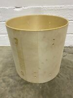 "Premier Floor Tom Drum Shell 16""x16"" Bare Wood Project / Upcycle"