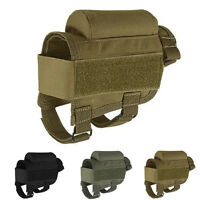 Rifle Cheek Rest Pouch Holder Pack Bag Portable Adjustable Tactical Butt Stock