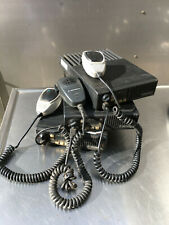 Lot Of 3 Motorola D51mja97a3ak Maxtrac Mobile 2 Way Radio With Microphone 1