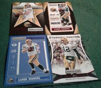 2016 Rookie & Stars Aaron Rodgers Inserts, Green Bay Packers 4 card lot