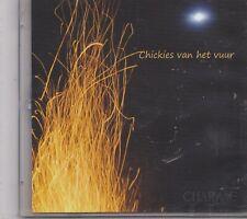 Chickies Van Het Vuur-Charme promo cd maxi single