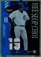 2003 Leaf Limited Threads 2-COLORS GU Jersey Hee Seop Choi #07/19 Cubs