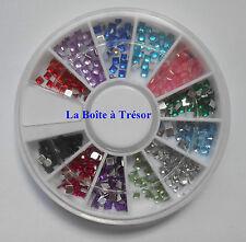 Nail Art - Carrousel Strass pour la Décoration des Ongles Multicolore - Réf. 1