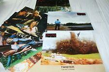 TWISTER  !  jeu 12 photos cinema lobby cards fantastique