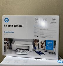 NEW HP DeskJet 2722 All-in-One Wireless Color Inkjet Printer – Instant Ink Ready
