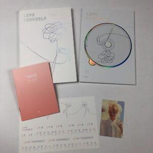 """BTS 5th Mini Album [LOVE YOURSELF 承 Her] """"E Ver."""" CD + Photo book + Stickers"""