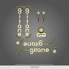1900 Gitane Bicycle Stickers - Decals - Transfers - White/Gold