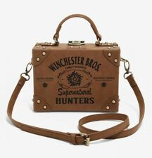 Winchester Bros Supernatural Purse Bag Trunk Brown Suitcase Crossbody Bioworld