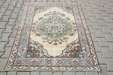 Anatolian Rug Handmade Rug Turkish Rug Woven Rug Antique Rug 4'0x5'7 Ft 2950 RUG