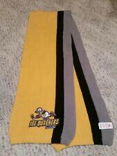 RARE! • Disney's Donald Duck Ice Quackers Hockey 4ft Scarf.