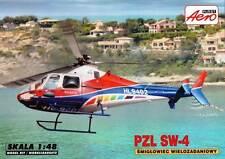 PZL Agusta Westland/SW-4/AW-009 (polaco & coreano marcas) 1/48 Aeroplast