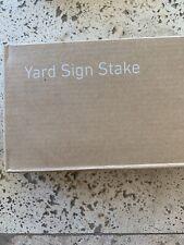 SimpiSafe Yard Sign Stake