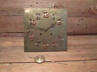 Vintage Wall Clock The E Ingraham Company - Restoration/Parts!