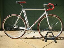 WATERFORD 1700 Steel Frame Single Speed 55.5cm Track Bike Fixie Miche Group NICE