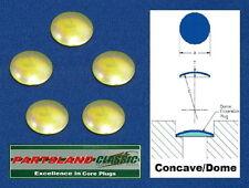 """Placa Disco Núcleo Conector 40mm 1.575"""" (1.9/16"""" Grande) Cadmio Plateado x 5"""
