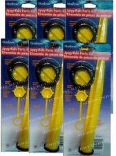 Scepter Gas Can Spout kit - LOT of 6 - NOZZLE,COLLAR, STOPPER & VENT CAP #03647