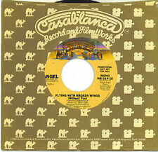 ANGEL  Flying With Broken Wings  promo 45 from 1977