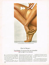 PUBLICITE  1969   LE BOURGET  bas anti-glisse TOP LIBERTE