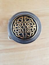 Genuine Dragon Designs Viking Pogan Celtic Knot Belt Buckle Made in Usa