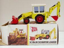 JCB 3Ciii Tractor Loader Backhoe - 1/35 - NZG #105