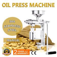 Stainless Steel Fuselage Hand Press Seed Manual Oil Expeller DIY Small Machine