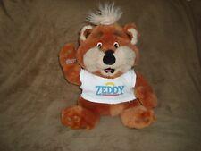 """Zellers Mascot Teddy Bear ZEDDY Plush 14"""""""