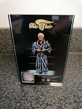 WWE 2K19 Ric Flair Robe Commemorative Plaque Purple sequins worn ring new B3