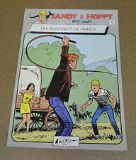 LAMBIL - SANDY ET HOPPY - 9 - LES REVENANTS DE PINKILA - EO ( TBE )