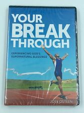 Joel Osteen - Your Break Through, God's Supernatural 2 CD's / 1 DVD NEW Sealed
